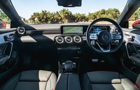 Mercedes CLA 2020 RHD dashboard