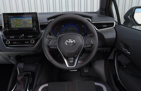 Toyota Corolla GR 2020 RHD dashboard