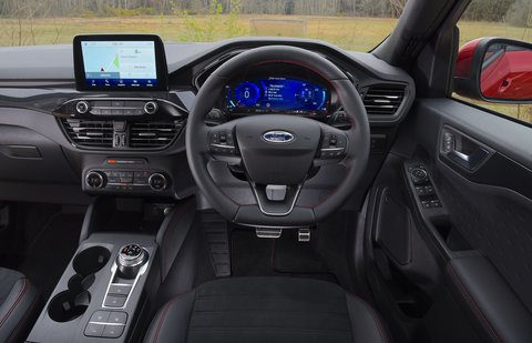 Ford Kuga 2020 RHD dashboard