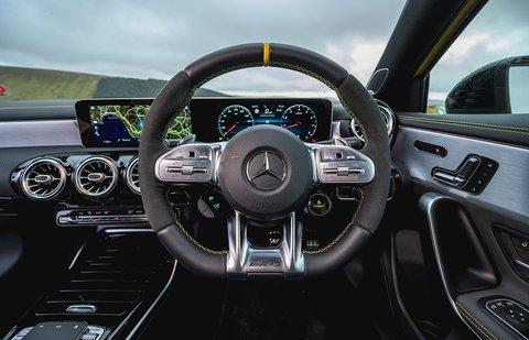 Mercedes A45 AMG 2020 RHD dashboard