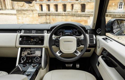 Range Rover P400e 2020 RHD dashboard