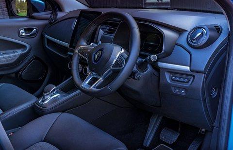 Renault Zoe 2021 RHD dashboard