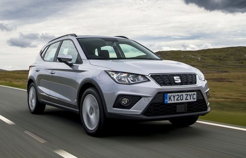 2020 Seat Arona - front tracking