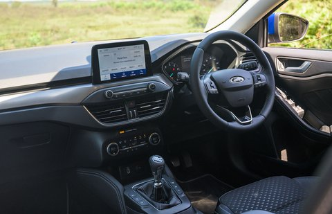 Ford Focus 2020 RHD dashboard