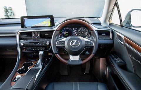 Lexus RX L 2021 interior dashboard