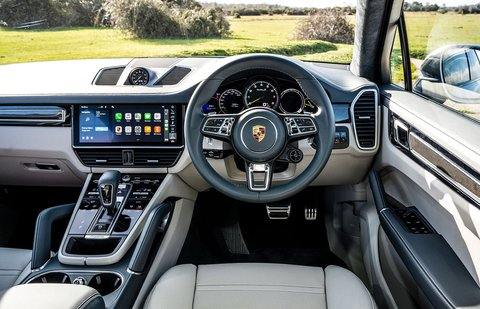 Porsche Cayenne RHD 69-plate dashboard