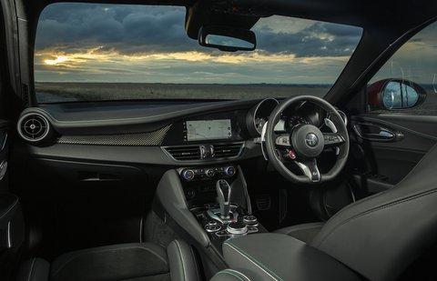 Alfa Romeo Quadrifoglio 2020 RHD dashboard