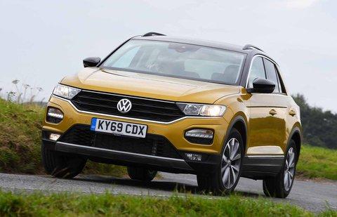 Volkswagen T-Roc front