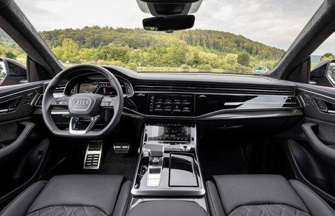 Audi SQ8 2020 dashboard
