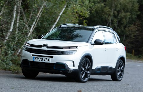 Citroën C5 Aircross 2020 front tracking