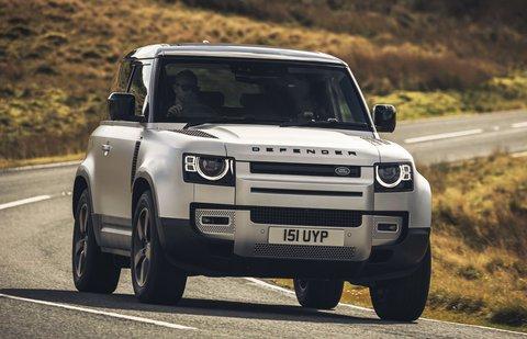 Land Rover Defender 90 2020 front