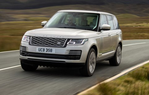 Range Rover 2020 front tracking