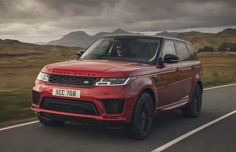 Range Rover Sport 2020 front tracking