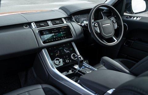 Range Rover Sport 2020 dashboard