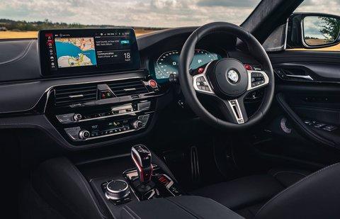 BMW M5 2020 dashboard