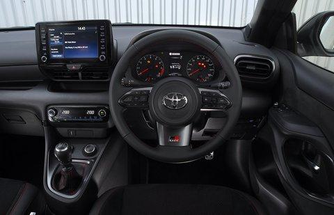 Toyota GR Yaris 2021 RHD dashboard