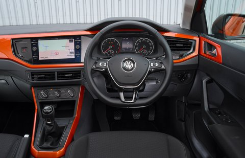 Volkswagen Polo 2020 dashboard