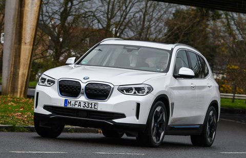 BMW iX3 2021 front