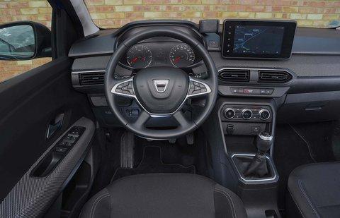 Dacia Sandero 2021 Dashboard