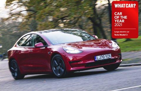 Tesla Model 3 2021 COTY