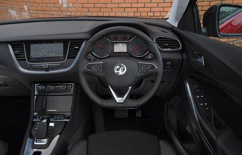 Vauxhall Grandland X 2021 dashboard