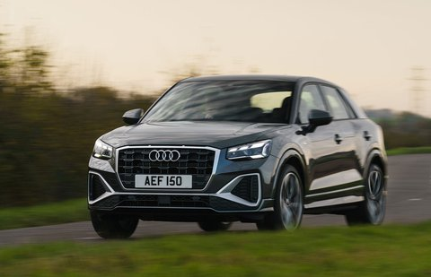 Audi Q2 2021 front tracking
