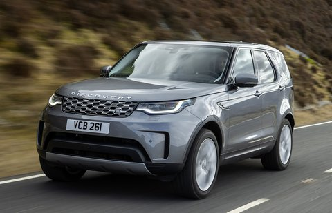Land Rover Discovery 2021 front tracking