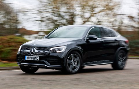 Mercedes GLC Coupe 2021 front