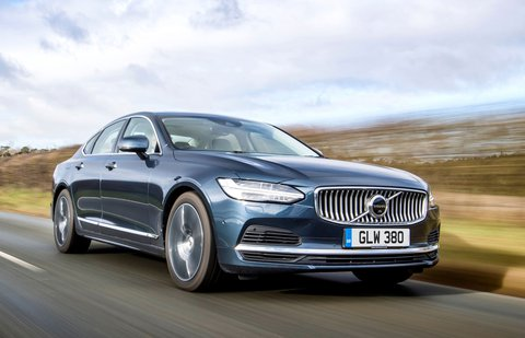 Volvo S90 2021 front right tracking