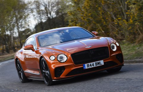 Bentley Continental GT V8 2021 front