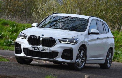 BMW X1 2021 front cornering