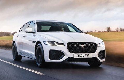 Jaguar XF 2021 front