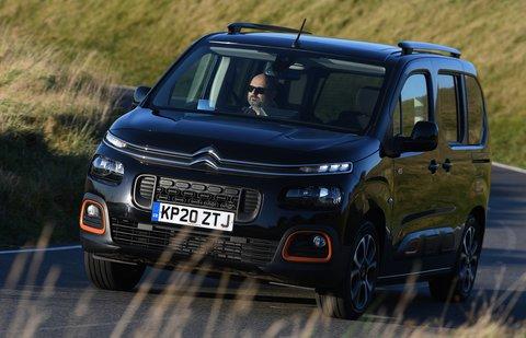 Citroën Berlingo 2021 front cornering