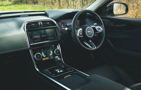 Jaguar XE 2021 interior dashboard