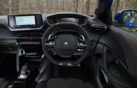 Peugeot 2008 2021 interior dashboard