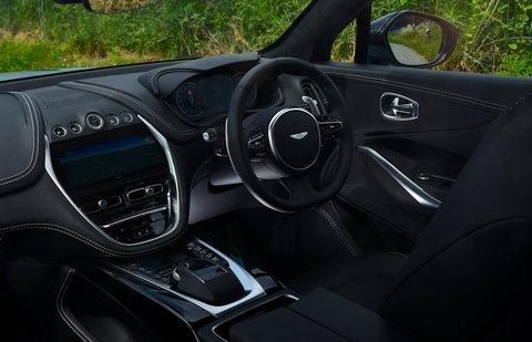 Aston Martin DBX 2021 interior dashboard