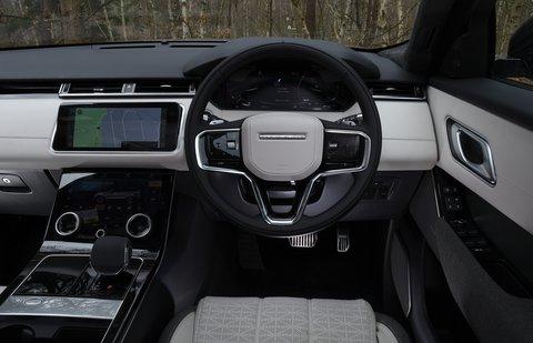 Range Rover Velar 2021 interior dashboard