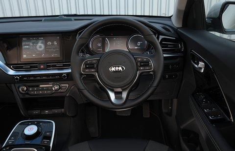Kia e-Niro 2021 interior dashboard