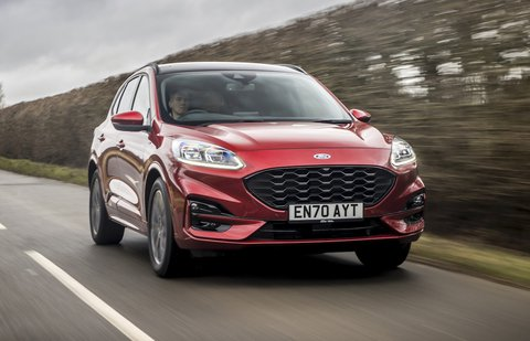 Ford Kuga 2021 front tracking