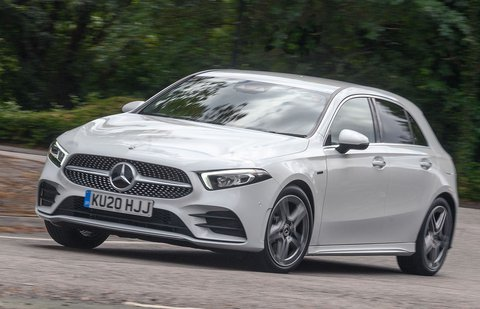 Mercedes-Benz A-Class A250 2020 front tracking