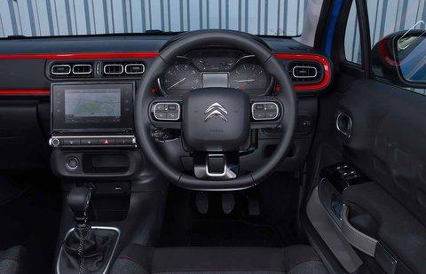 Citroen C3 2019 RHD dashboard