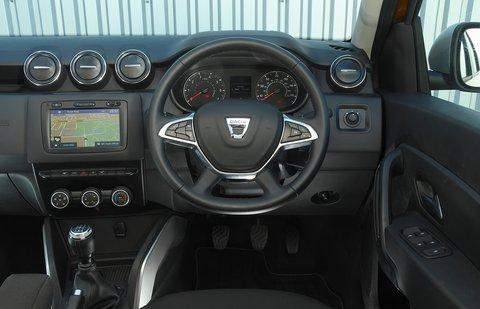 Dacia Duster 2021 dashboard