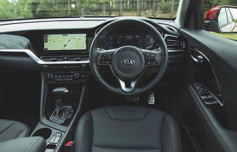 Kia Niro 2019 RHD dashboard