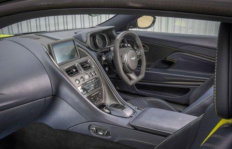 Aston Martin DB11 AMR Interior