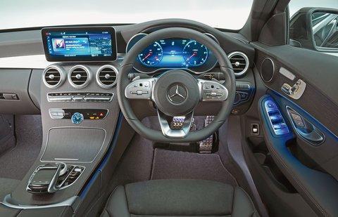 Mercedes C Class 2019 RHD dashboard