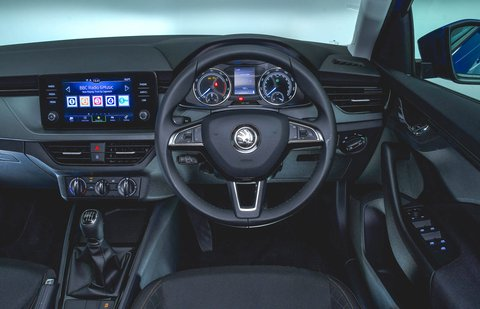 Skoda Scala 2021 RHD dashboard