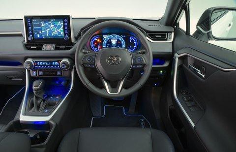 Toyota RAV4 2021 RHD dashboard