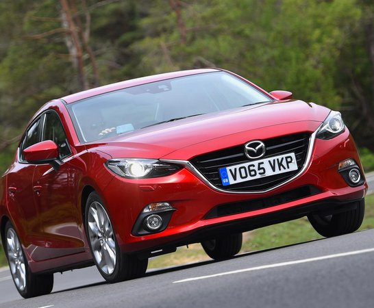 Mazda 3 Fastback. Review Continues Below.