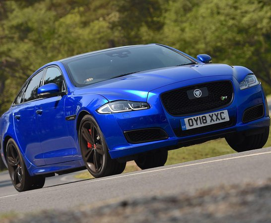Jaguar XJ. Review Continues Below.