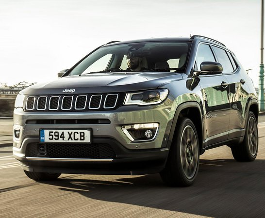 Jeep Compass. Review Continues Below.